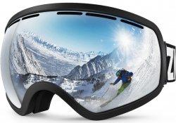 Спортивные очки для занятия зимними видами спорта.