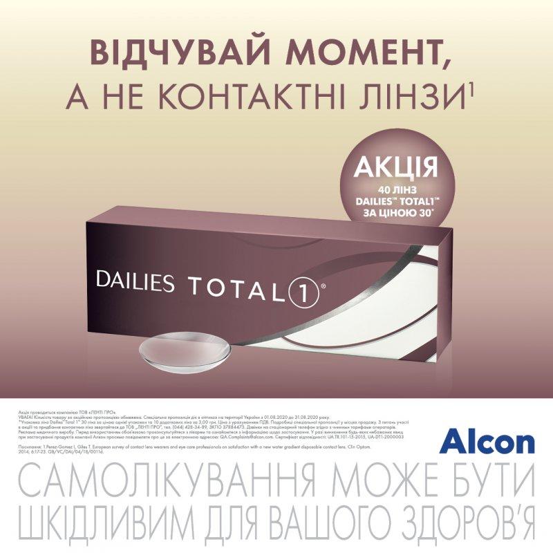 Акция МКЛ Dailies Total 1