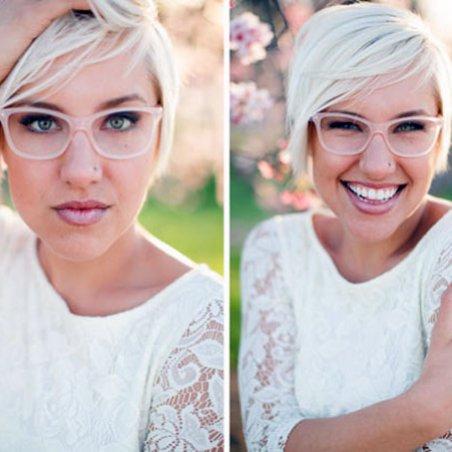 Свадьба и плохое зрение у невесты