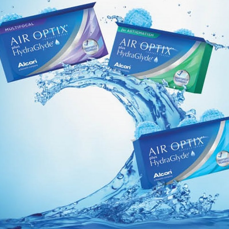 Акция на контактные линзы Air Optix