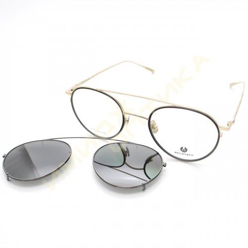 Солнцезащитные очки Belstaff jagged black gold