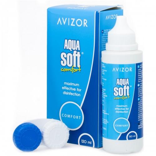 Раствор для линз Aqua Soft 120 ml