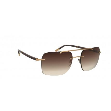 Солнцезащитные очки  Silhouette 8708 7520L gold