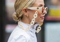Солнцезащитные очки на цепочке: модно и практично