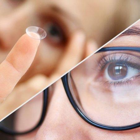 Очки или линзы: что выбрать?